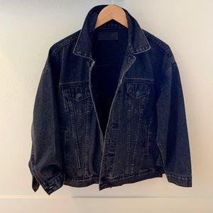 BLANK NYC Oversized Denim Jacket XS
